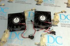 DELTA ELECTRONICS FFB0912EHE 12 VDC 1.50 A DC BRUSHLESS FAN LOT OF 2