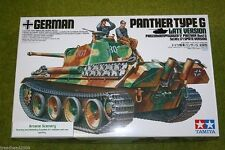 TAMIYA German Panther Tipo G tarda versione 1/35 KIT SCALA 35176