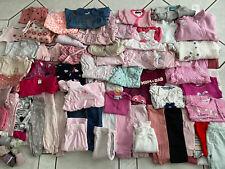 Mädchenpaket 56 62 Bekleidungspaket  Baby Paket Top  XXL Über 60 Teile