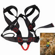 Safety Rock Climbing Rappelling Harness Seat Sitting Waist Belt Outdoor 500kg