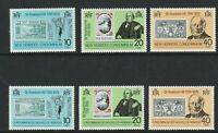 NEW HEBRIDES 1979 ROWLAND HILL CENTENARY DUAL SETS OF COMMEMORATIVE STAMPS MNH