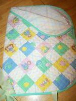 Vintage Cabbage Patch Kids Slumber Bag Quilted Sleeping Bag Blanket 1983 Coleco