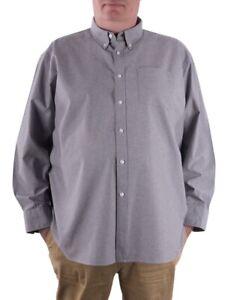Maracheno Oxford Shirt, Grey, XS-5XL