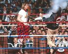 Rowdy Roddy Piper Signed WWE 8x10 Photo PSA/DNA COA Wrestlemania V Picture Auto