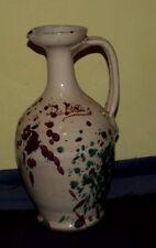 De Lillis Vaso Ceramica Terracotta Firmato Fatto e Dipinto a Mano 26 cm.