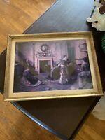 Walter Dendy Sadler Lovely Old Home Sweet Home Print Matted Framed 13 X 10
