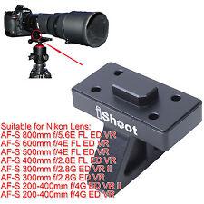 Treppiede Obiettivo Anello Attacco Base Piede per Nikon AF-S 500mm f/4E FL ED VR
