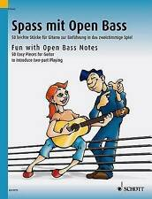 Fun With Open Bass Notes: 50 Easy Pieces for Guitar to introduce two-part playin