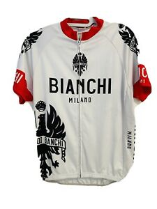 Bianchi Milano Cycling Jersey Size M made in italy