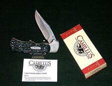 Camillus Lockback Knife Harley Davidson HD-1 Licensed 1998 W/Packaging, Papers