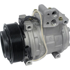 John Deere Tractor AC A/C Compressor With Clutch Replaces:Denso 10PA15C Type