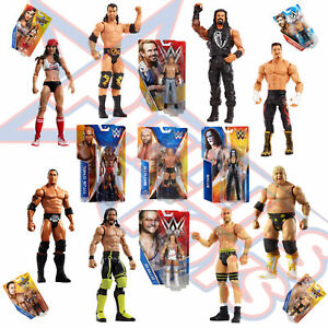 WWE Basic Wrestling Action Figure Range - AJ Styles, Seth Rollins, Roman Reigns