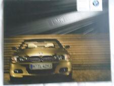 BMW Individual 3 Series Coupe & Cabrio brochure 2005 German text