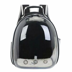 Cat Rusksack Transparent Pet Backpack Portable Pet Bag Breathable Carry Dog Bag