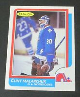 1986-87 O-Pee-Chee #47 Clint Malarchuk Rookie RC - EX-MT+/NM