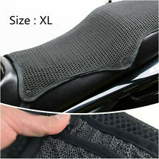 Motorcycle Sunscreen Seat Cover Small Holes Prevent Scooter Elastic Cover Black