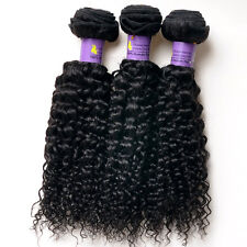 150g/3pcs Brazilian Kinky Curly Virgin Hair Weave 3bundles Unprocessed Human Hai
