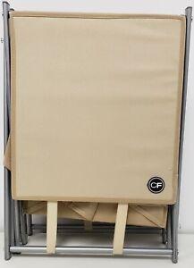 ClutterFree 12-Box Shoe Rack Foldable Tan