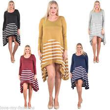 Viscose Summer Striped Dresses for Women