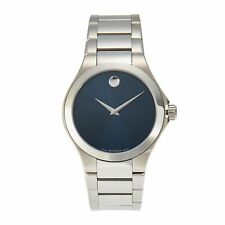 Movado 0606335 Men's Defio Silver-Tone Quartz Watch