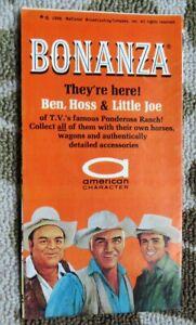 1966 Bonanza American Character Hoss, Ben & Little Joe Action Figures Brochure