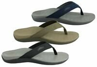 Brand New Scholl Orthaheel Wave Ii Mens Comfort Orthotic Thongs With Support