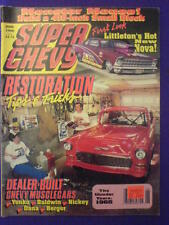 SUPER CHEVY - RESTORATION - June 1990 vol 19 #6