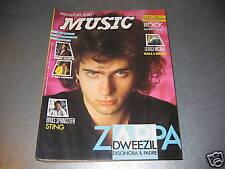 MUSIC N.103 - ZAPPA - POSTER PINK FLOYD & ROD STEWART