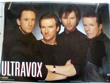 Rare Ultravox 1985 Vintage Original Music Poster