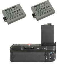 Battery Grip Pack for Canon 500D 450D 1000D as BG-E5 Camera + 2 Batteries