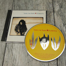 1993 Tears for Fears - Elemental CD - Mercury Records