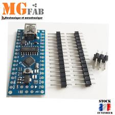 NANO V3 ATmega168 16M CH340 ARDUINO compatible sans câble  DIY development Board