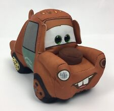 Disney Cars TY Sparkle Tow Mater Beanie Babies Collection Green Eyes Plush Toy