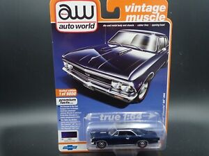 2020 AUTO WORLD 1966 CHEVY CHEVELLE SS 396 VINTAGE MUSCLE REL 2 VERSION A
