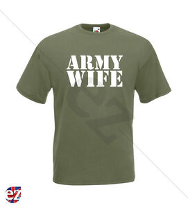 MILITARY T-SHIRT - Army Wife