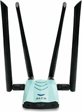Alfa AC1900 WiFi Adapter 1900Mbps 802.11ac Long-Range Dual Band Antennas USB3.0
