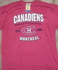 NEW NHL Montreal Canadiens T Shirt XL X-Large Men NEW NWT