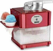 Professional Snow Cone Machine Electric Maker Shaved Ice Crusher Frozen Shaved