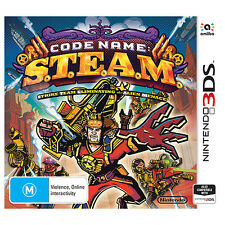 Code Name: S.T.E.A.M. | 3DS Game BRAND NEW
