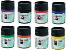 Glass Stain Paint 15 ml Transparent Colors Dishwasher-safe ~ PICK YOUR COLOR