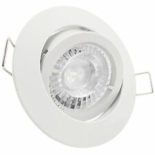 LED Set Deckenstrahler GU10 230V 7,5W = 70W DIMMBAR Spots CL-PRE