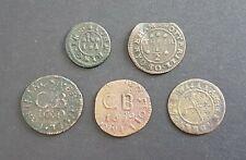 More details for 5 x 17th century tokens - 2 x bristol, 1 x headingham, 1 x oakeham plus 1 other