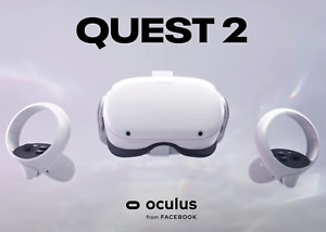 Oculus Quest 2 64GB VR Headset - White - Immaculate !