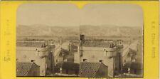 Avignon France Photo Stereo BK Paris Vintage Albumine ca 1870