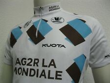 Ancien MAILLOT VERMARC AG2R LA MONDIALE Pro Cycling Team Jersey Maglia Shirt TXL