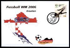 Fußball. WM-2006, Deutschland. FDC(1). Kroatien 2006