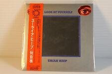 URIAH HEEP ~ LOOK AT YOURSELF ~JAPAN MINI LP CD 20BIT K2~ AUTHENTIC, VERY RARE,