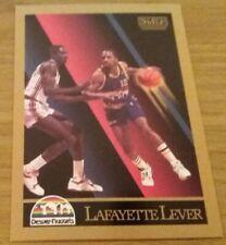 Lafayette Lever Denver Nuggets 1990-91 SKYBOX Basketball Trading Card # 78