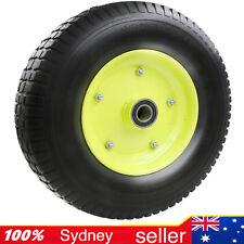 16x4.50-8 Solid Tyre Wheel Wheelbarrow Flat Free Wheels Puncture Proof AU STOCK
