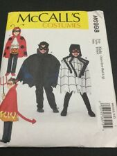 McCall's Halloween Costume Pattern # 6998 Size 3 To 12 From 2014